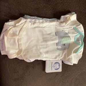 Ferber made with organic cotton onesies